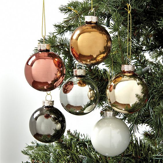 All That Glitters Is Silver And Gold At Christmas Time