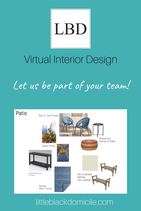 interior design-virtual design-turquoise