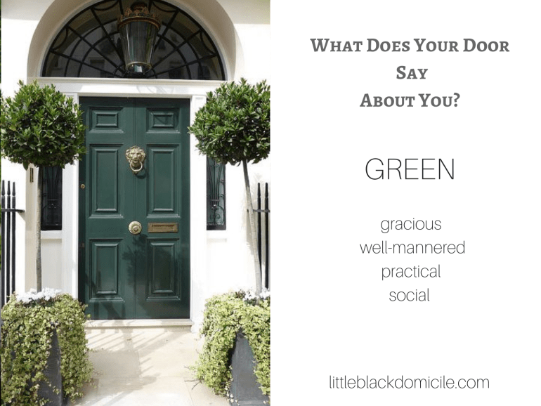 What does your door say about you? (dragged) 3