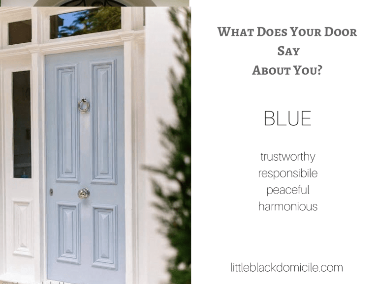 What does your door say about you? (dragged) 4