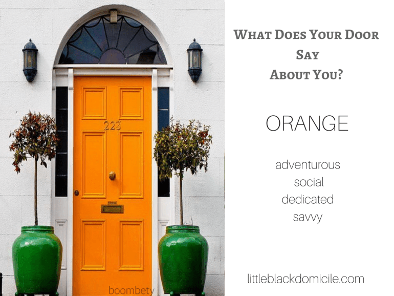 What does your door say about you? (dragged) 9