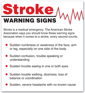 Recognize The Signs Of Stroke…  Little Black Village