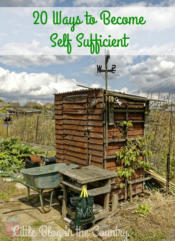 Self Sufficient Living is a great way to make sure your family is prepared for anything.  Don't miss our Tips For Self Sufficient Living that are easy to do!