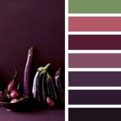 Design My Living Room Color Scheme Modern Canvas Art This Week's Palette: Eggplant Shades - Little Blue Dish