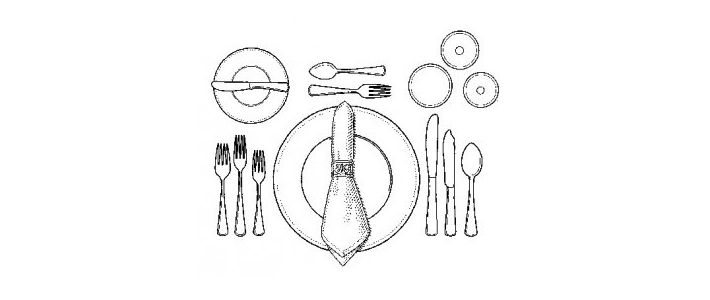summer table settings made up of bountiful vegetables (and