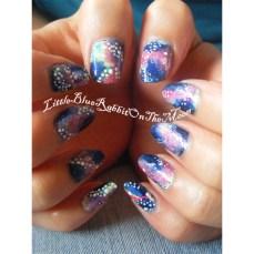 Galaxy Nail Art-2