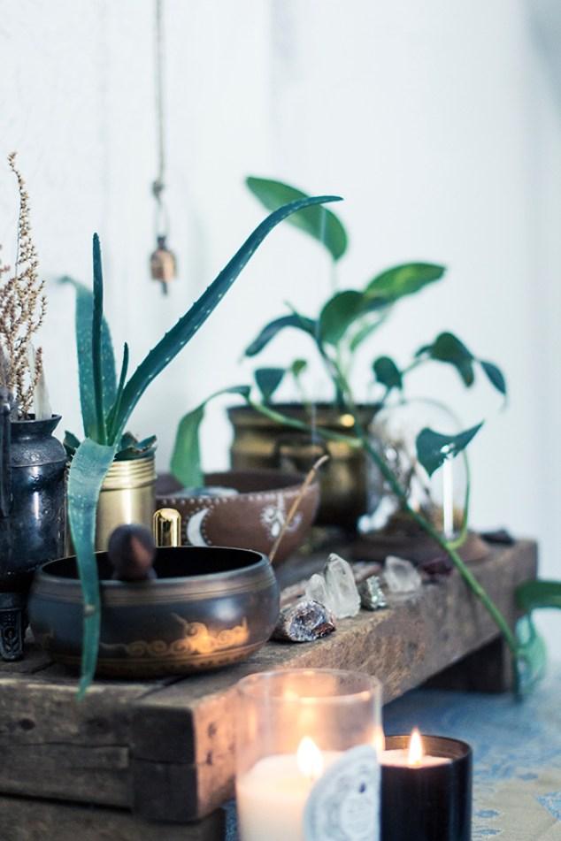 krystaller og planter