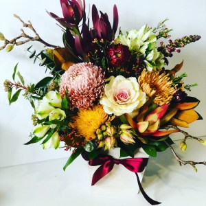 Rustic Box of Flowers with Little More
