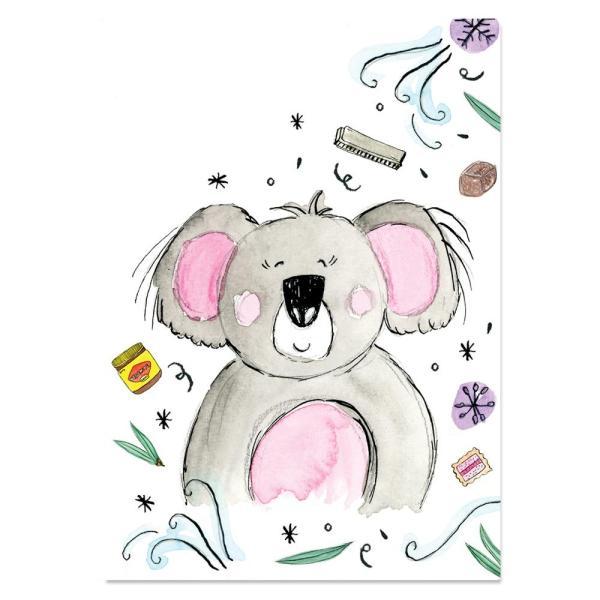 EM Art Print - Darla the Koala