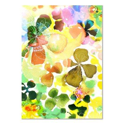 Card - Sunbleached Petals