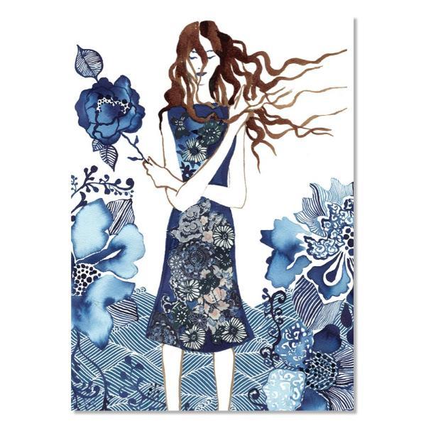 Card - Rainy Day Woman