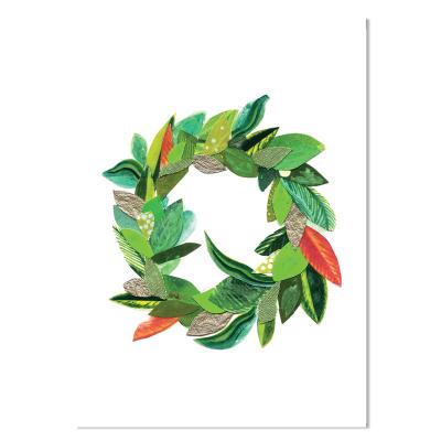 Card - Wreath