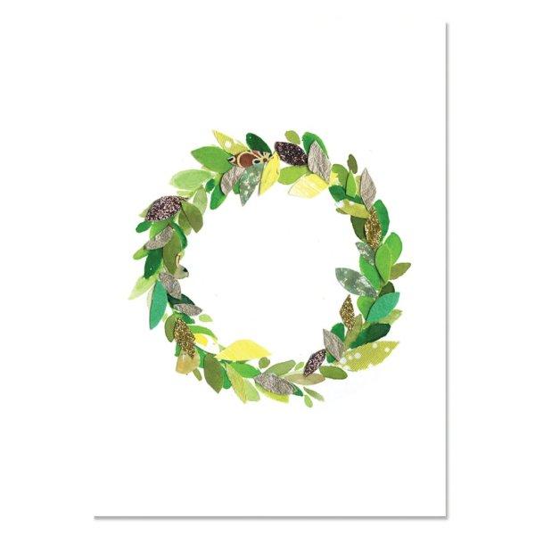 Card - Festive Wreath