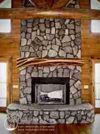 Rustic Fireplace Mantels | Fireplace mantel | Littlebranch ...