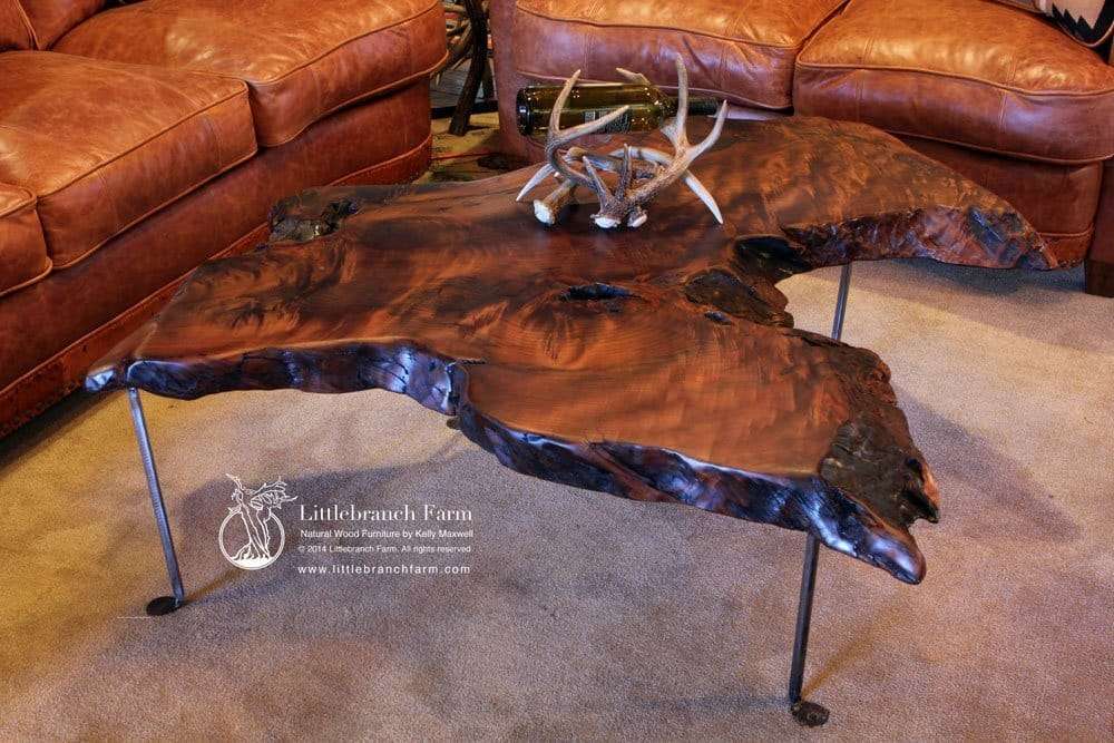 Rustic Coffee Table Littlebranch Farm