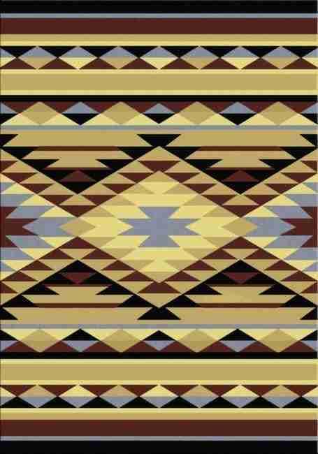 Sallisaw   Southwestern Rugs by American Dakota--FREE SHIPPING