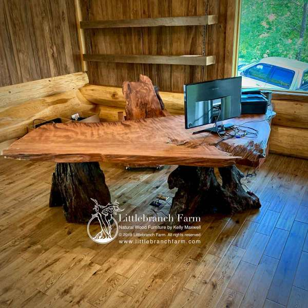 Rustic home office decor