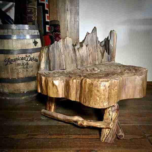 Log Rustic coffee table