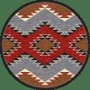 Heritage western rug