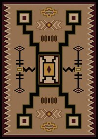 American Dakota Rugs - southwestern rugs - log cabin rugs