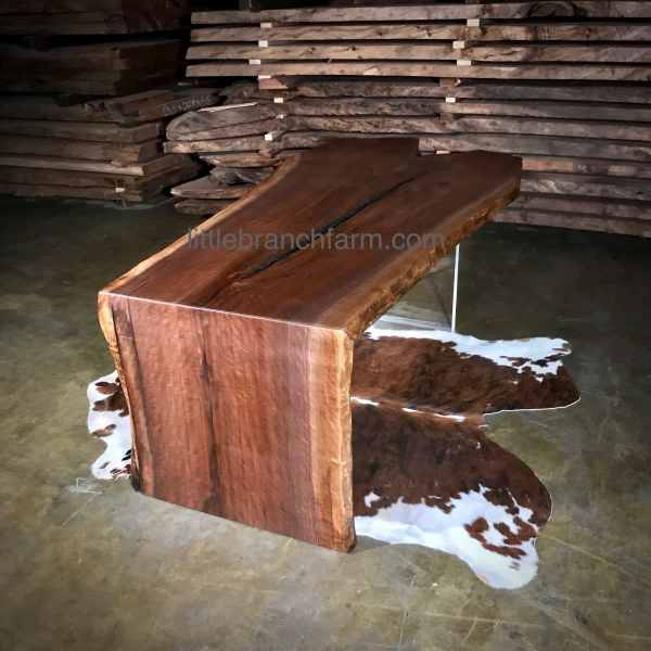 Modern live edge table