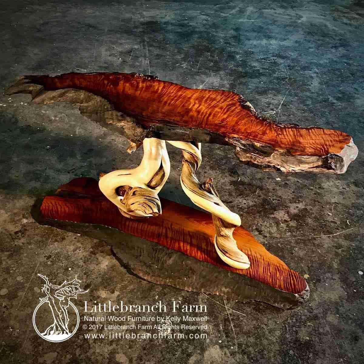 Juniper wood furniture