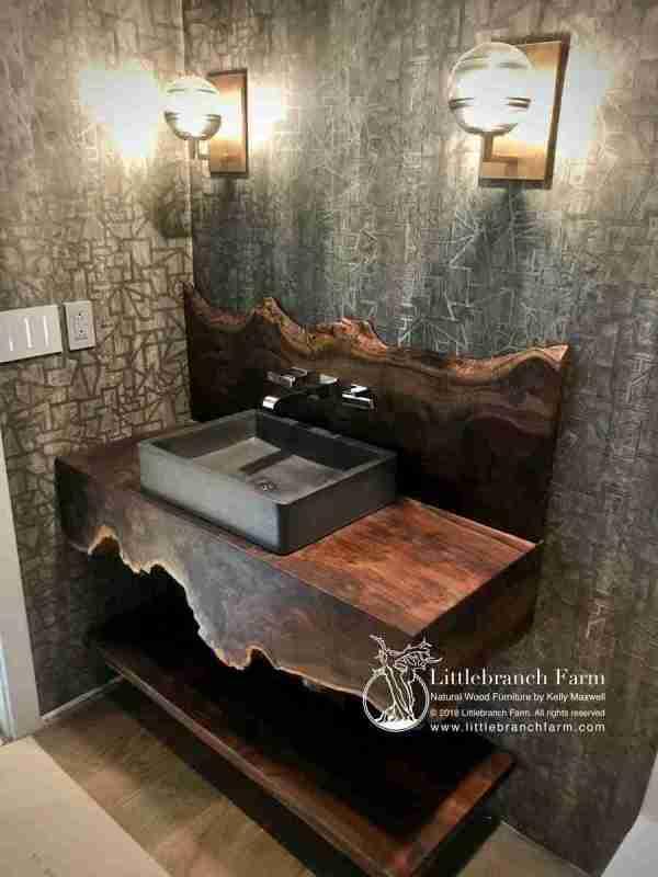 Rustic Vanities - Vanity Floating Bathroom