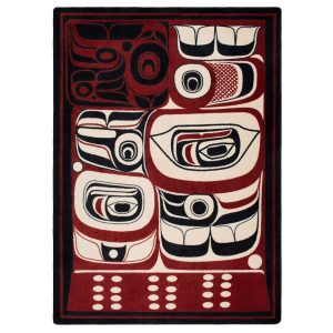 True eclectic northwestern rug design