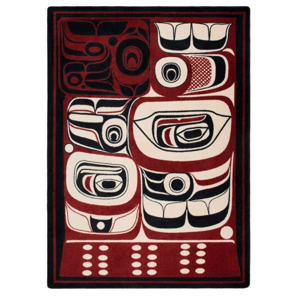 True eclectic northwestern rug design