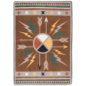 Native arrow rug