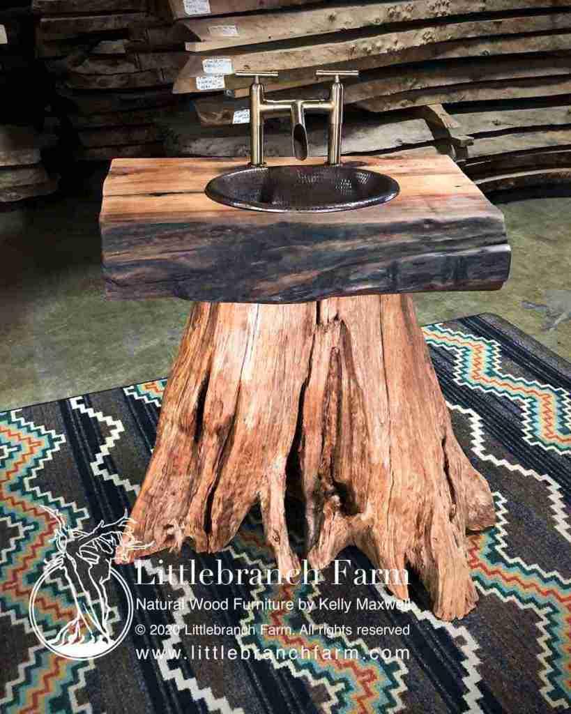 log vanity