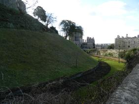 The moat garden ... beautiful in spring and summer