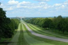 The magnificent 5000 acre Windsor Great Park ...