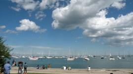 I didn't know Lake Michigan was so blue!
