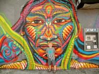 Mural in Logan Square.