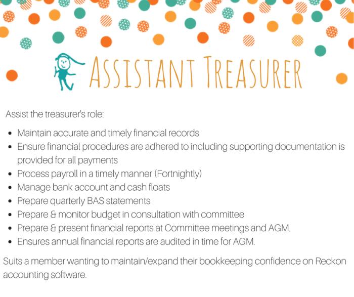 Assistant Treasurer