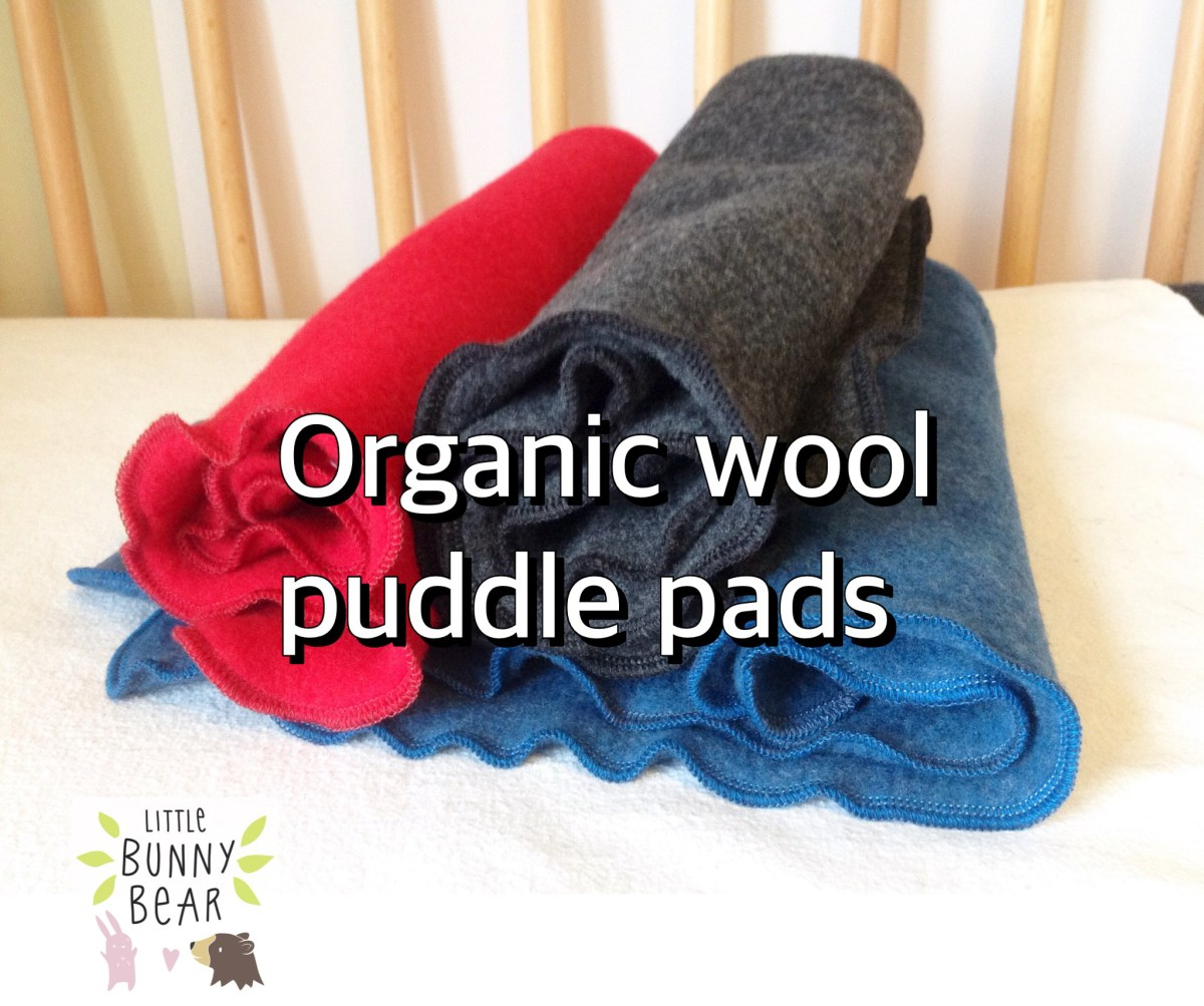 organic wool puddle pad mattress protector