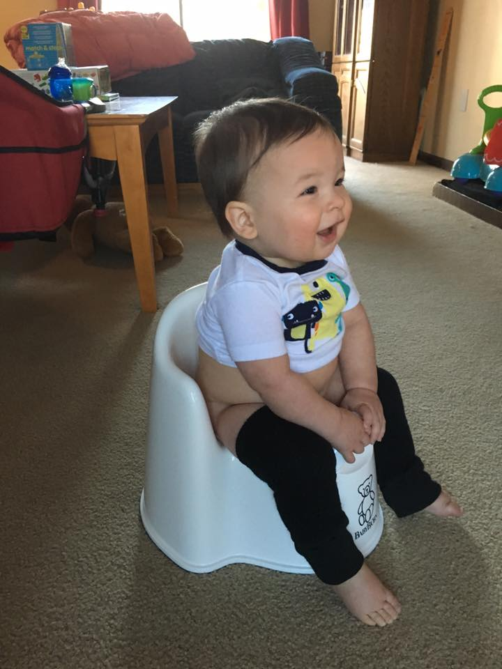 baby potty training