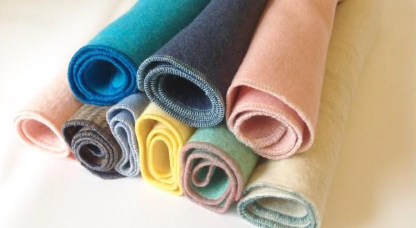 DIY wool puddle pad mattress protector