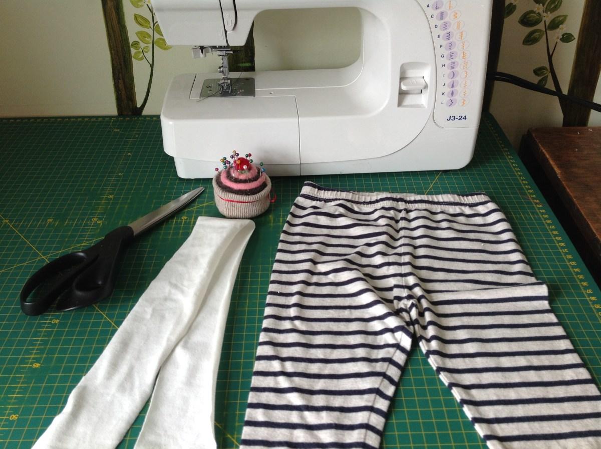 DIY Split crotch trousers pants supply list