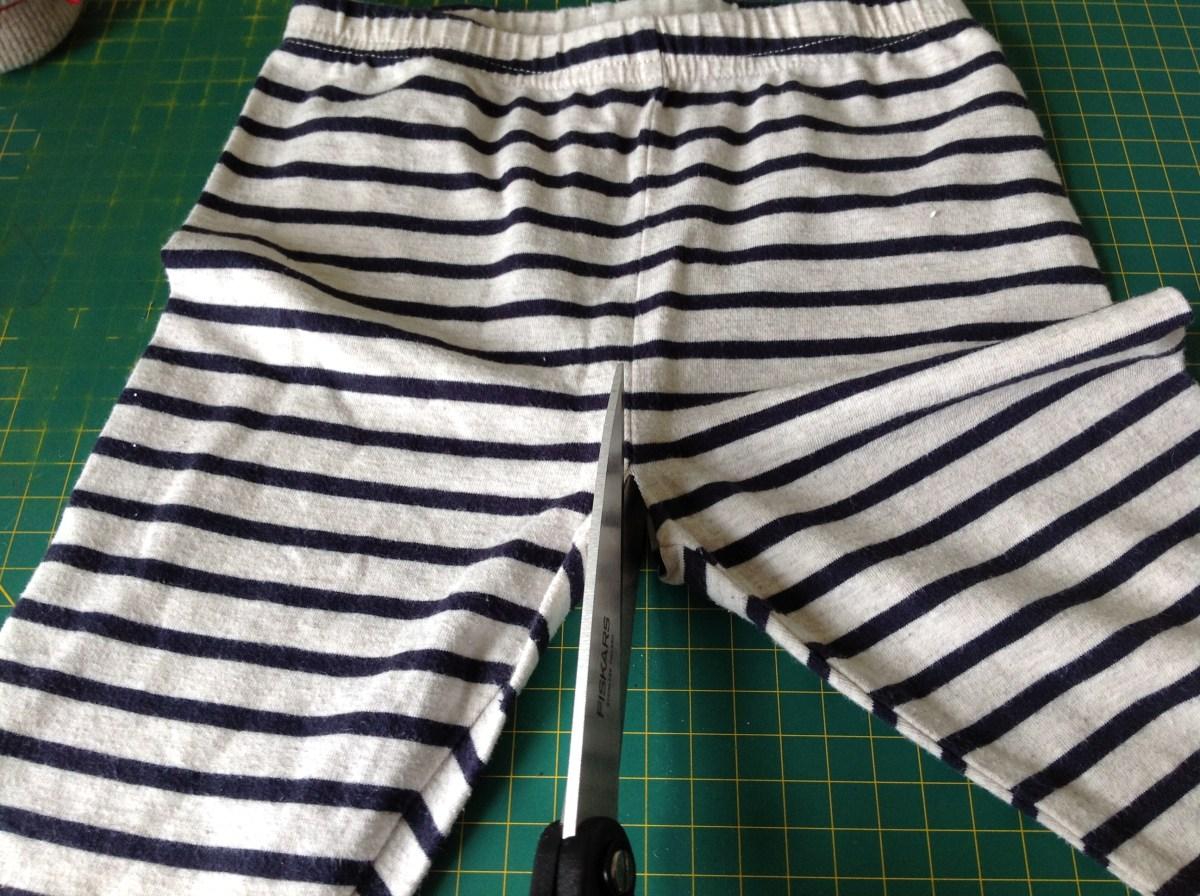 DIY split crotch trousers pants elimination communication clothing