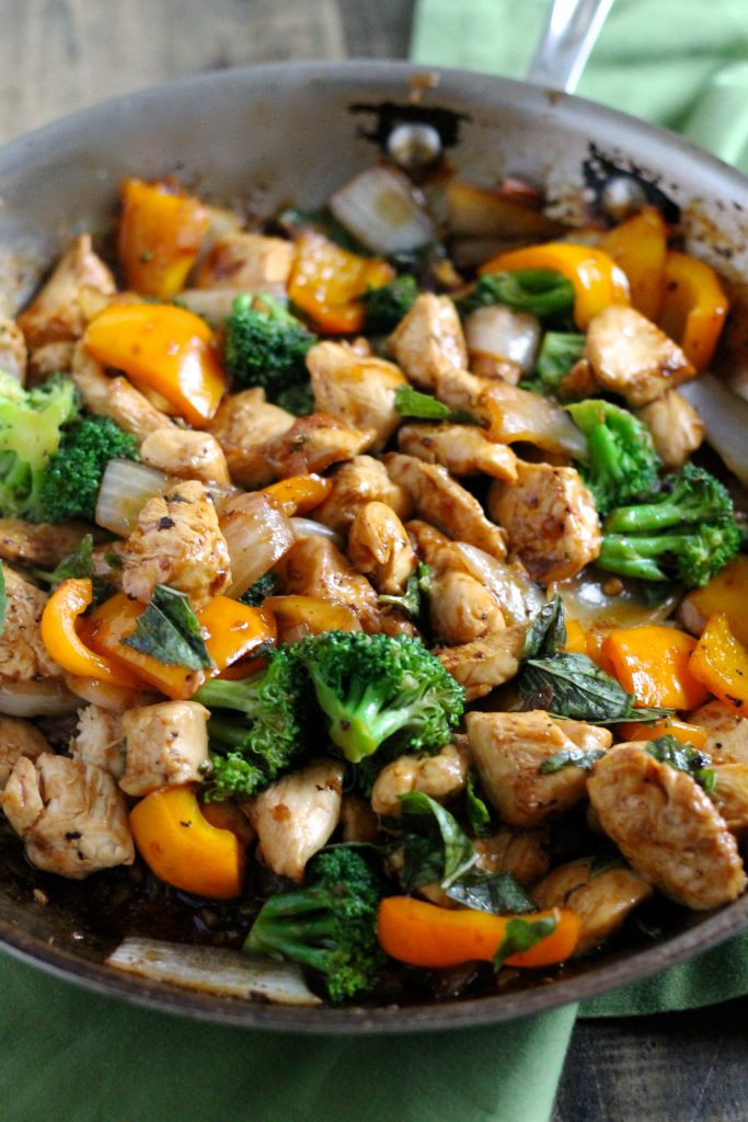 Insanely Delicious Spicy Basil Chicken Recipe