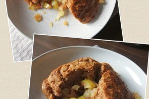 Eva's Apple & Plum Pudding
