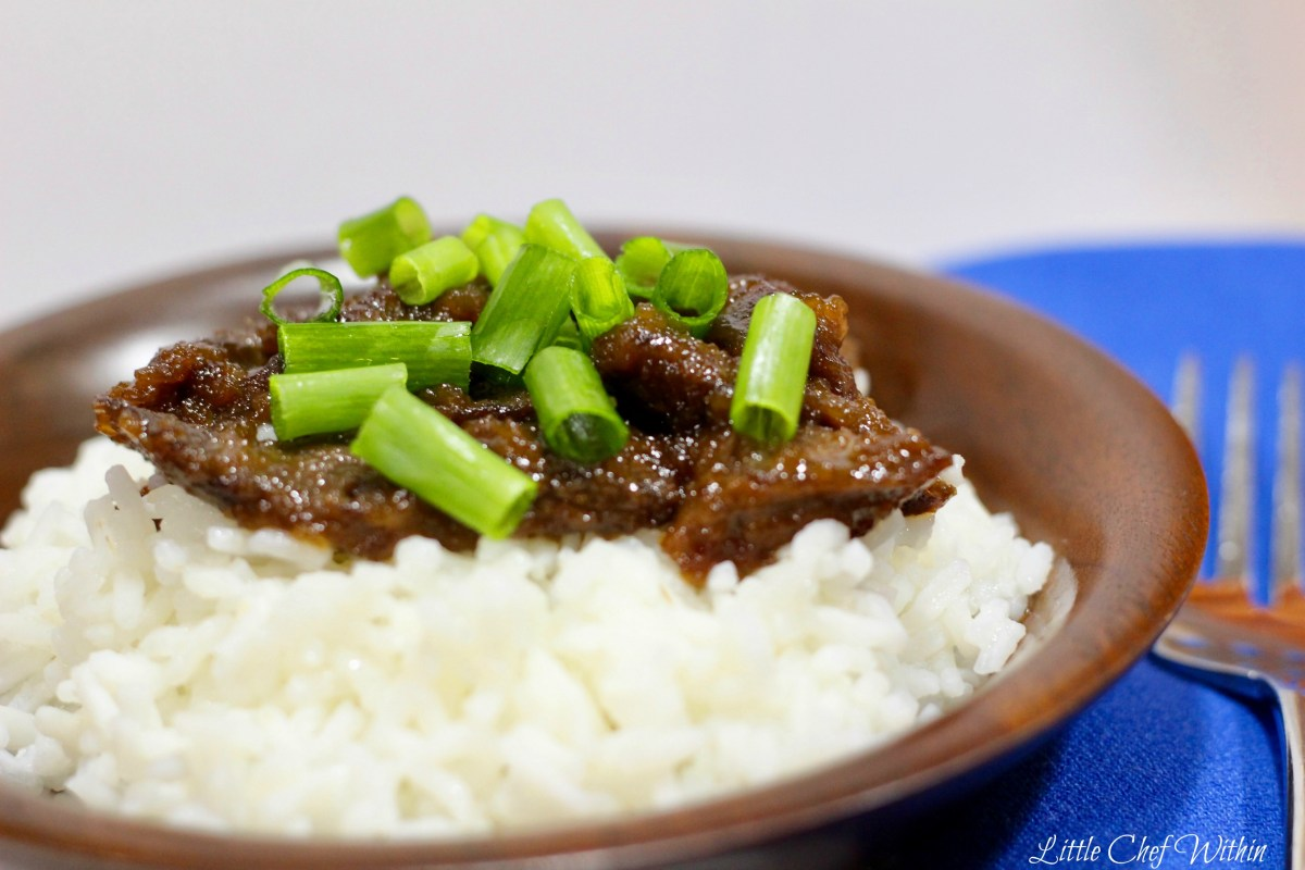 Easy Peasy Mongolian Beef (Gluten Free) & San-J Review