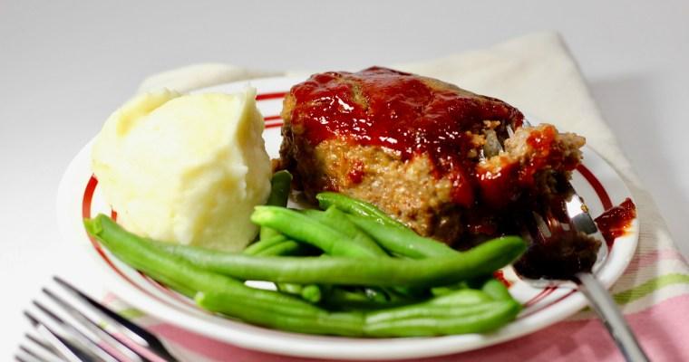 Mini Meatloaf – Gluten Free
