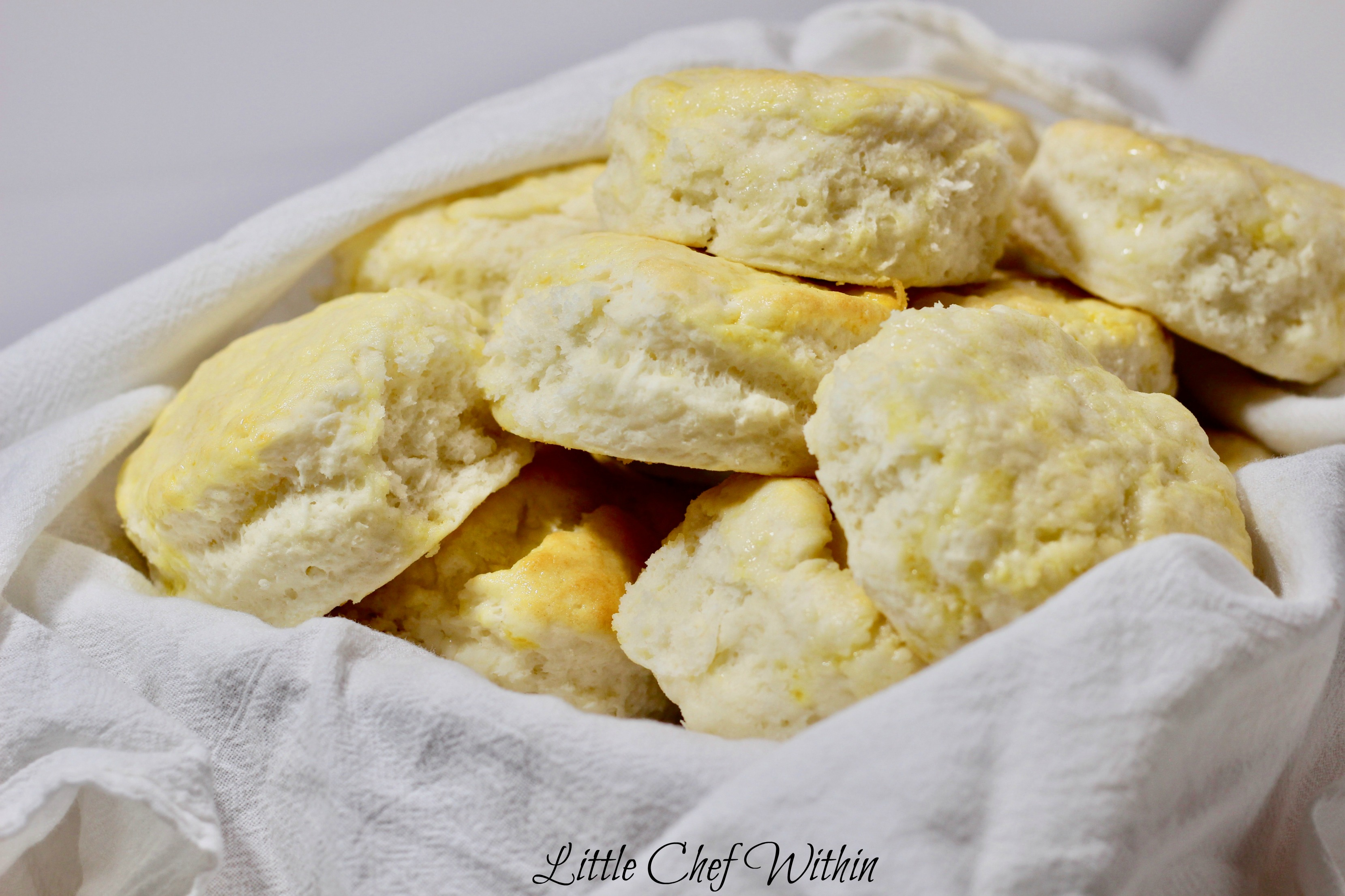 The World's Easiest Sour Cream Biscuits (only 3 ingredients)