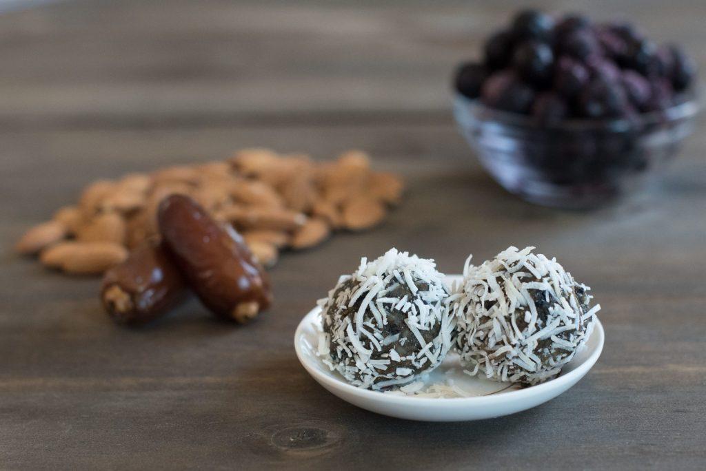 Blueberry Energy Balls Healthy Recipe
