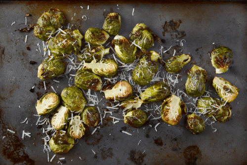 Roasted-Parmesan-Brussels-Sprouts