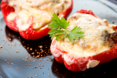 stuffed-red-bell-pepper