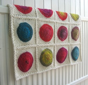 Pop Blanket 2 by Tin Can Knits